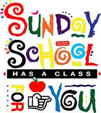 Sunday School has a class for you