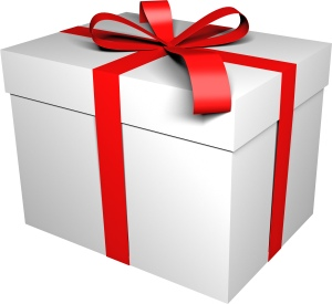 white-gift